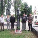 Pamiatka na československých vojakov, ktorí zahynuli na území Nových Zámkov